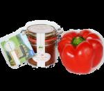 sell-gmachts Birne-Paprika Bio-Chutney