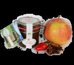 sell-gmachts Bratapfel Bio-Chutney