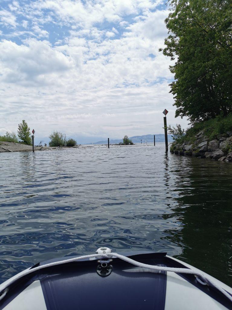 Die Erste Tour mit eigenem Boot auf dem Bodensee!